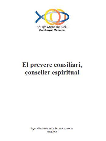 el prevere consiliari conseller espiritual