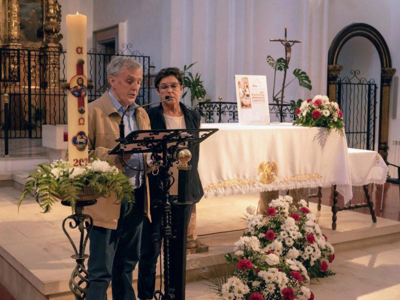 """VIDA DEL MOVIMENT: Setmana de la Família """"Amoris Laetitia"""" Pregària conjunta al Santuari de la Mare de Déu del Toro"""